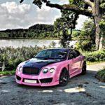 Bentley Continental GT mit Corspeed Challenge Felgen