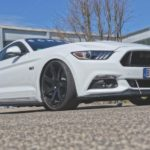 Ford Mustang with Cor.Speed Challenge 9+10,5×21 and 807 PS