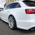 Audi A6 4G with Corspeed Deville rims