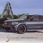 Corspeed Deville Inox for GLC Mercedes Coupe