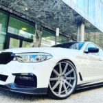 BMW 5-series G30 with Corpseed Deville in 21 inches