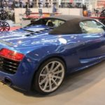 Audi R8 with concave Corspeed Deville