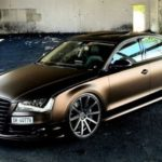 Audi S8 with 22 inches Deville