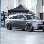Corspeed Deville Inox auf Audi RS6 4B