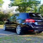 19 inches Deville on the Peugeot 308