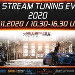 Save the date: Live Stream Tuning Event 28.11.2020 / 10:30 – 16:30 Uhr